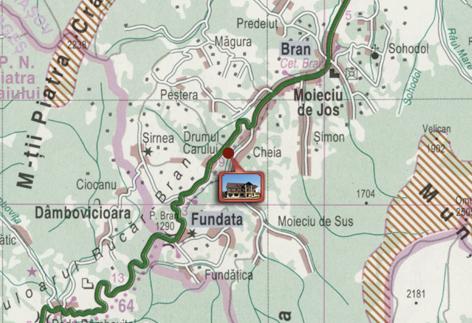 Locatie Cetatea Carului